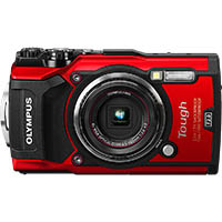 OLYMPUS TG-5 TOUGH DIGITAL COMPACT CAMERA RED