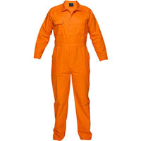 PRIME MOVER MW922 LIGHTWEIGHT COVERALL WITH METAL STUD CLOSURE