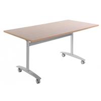 SUMMIT FLIP TABLE 1800 X 750MM BEECH