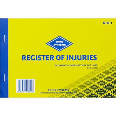 Injury Registers